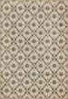 Product Image of Outdoor / Indoor Cream, Distressed Grey (Ellis) Area Rug