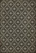 Product Image of Outdoor / Indoor Distressed Black, Grey (Linnaeus) Area Rug