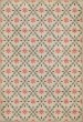 Product Image of Outdoor / Indoor Cream, Distressed Grey, Pink (Skipwith) Area Rug