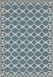 Product Image of Outdoor / Indoor Cream, Blue (Archibald Davidson) Area Rug