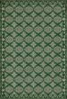 Product Image of Outdoor / Indoor Green, Cream (The Echoing Green) Area Rug