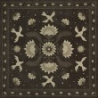 Product Image of Black, Cream (Stitches of the Hours) Outdoor / Indoor Area Rug