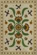 Product Image of Outdoor / Indoor Beige, Green, Mustard (Wild Bees Song) Area Rug