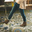 Product Image of Outdoor / Indoor Green, Yellow, Blue (Bombay) Area Rug