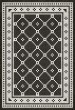 Product Image of Outdoor / Indoor Distressed Black, Ivory (Elmhurst Avenue) Area Rug