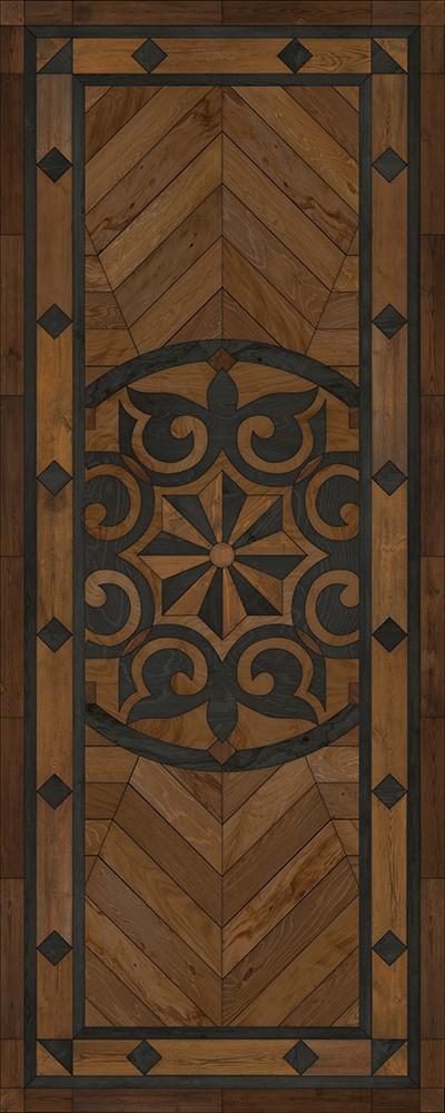 Black, Brown (Eye of the Workman) Outdoor / Indoor Area Rug