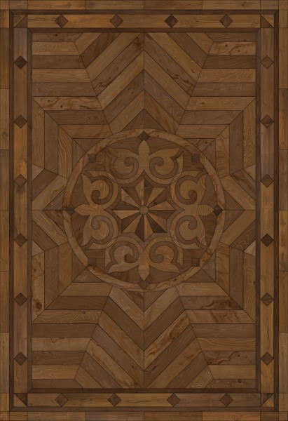 Antiqued Brown (Source of Delight) Outdoor / Indoor Area Rug