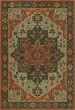 Product Image of Outdoor / Indoor Beige, Red, Blue (Uther Pendragon) Area Rug
