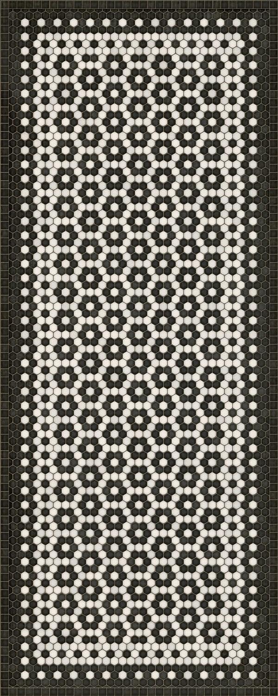 Vintage Vinyl Floor Cloths Mosaic