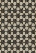 Product Image of Outdoor / Indoor Cream, Brown, Black (Battlestar) Area Rug