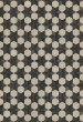Product Image of Cream, Black (Black Star) Outdoor / Indoor Area Rug