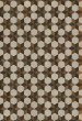 Product Image of Outdoor / Indoor Brown, Cream, Black (Neutron Star) Area Rug