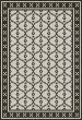 Product Image of Outdoor / Indoor Ivory, Black (Pelham Bay Park) Area Rug