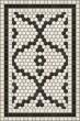 Product Image of Black, Ivory (Queensboro Plaza) Outdoor / Indoor Area Rug