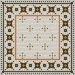 Product Image of Ivory, Black, Orange (Rawson Street) Outdoor / Indoor Area Rug