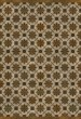Product Image of Outdoor / Indoor Brown, Cream, Black (Essay on Friendship) Area Rug