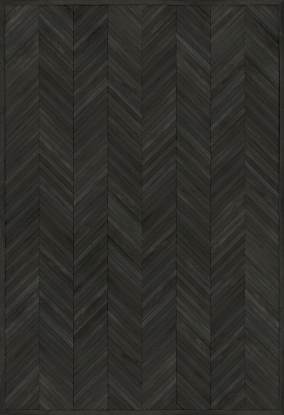 Black (Confessions of an Opium Eater) Outdoor / Indoor Area Rug