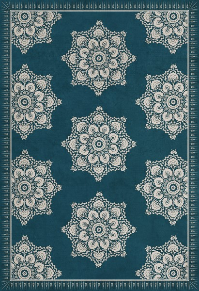 Blue (Indigo) Outdoor / Indoor Area Rug