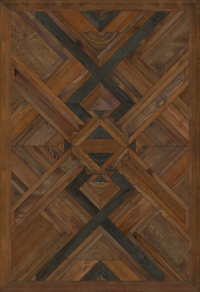 Brown, Black (The Thunders Soul) Contemporary / Modern Area Rug