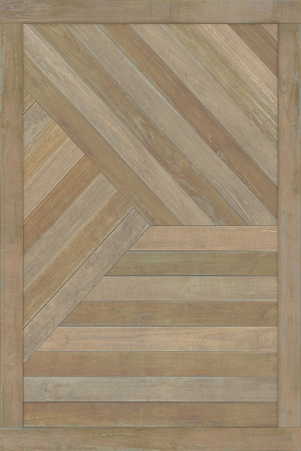 Natural Wood (Root Yourself to the Ground) Outdoor / Indoor Area Rug