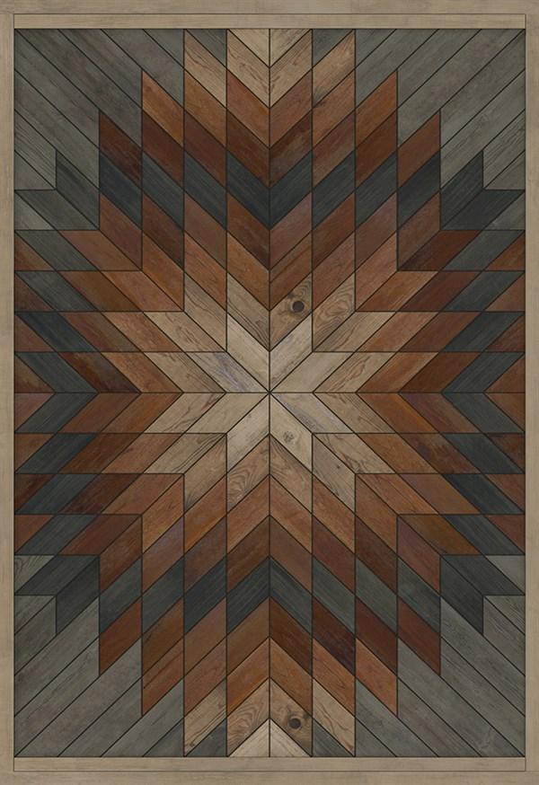 Brown, Grey (Glendalough) Outdoor / Indoor Area Rug