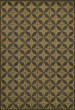 Product Image of Outdoor / Indoor Yellow, Distressed Black (Cosmic Ray) Area Rug