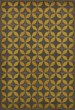 Product Image of Outdoor / Indoor Distressed Black, Yellow (Light Year) Area Rug