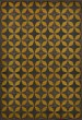 Product Image of Outdoor / Indoor Black, Yellow (Light Year) Area Rug