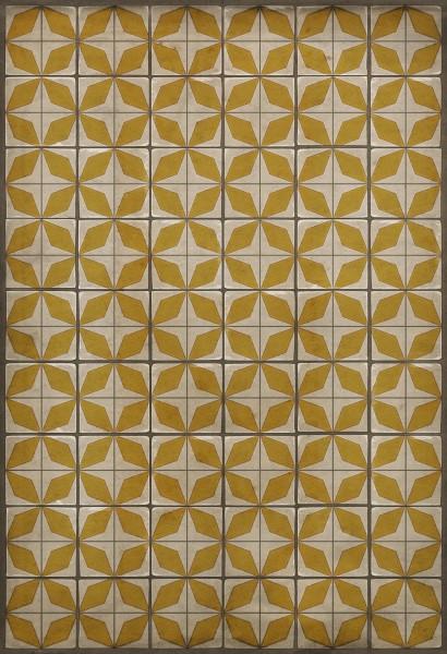 Beige, Yellow (Solar Panels) Outdoor / Indoor Area Rug