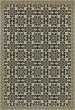 Product Image of Outdoor / Indoor Beige, Distressed Black (Gates of Horn and Ivory) Area Rug