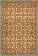 Product Image of Outdoor / Indoor Beige, Orange (The Heat of Summer) Area Rug