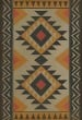 Product Image of Outdoor / Indoor Cream, Black, Gold (Vagabond) Area Rug