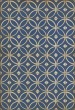 Product Image of Outdoor / Indoor Blue, Cream (Dress Blues) Area Rug