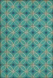 Product Image of Outdoor / Indoor Blue, Cream (Echoes From the Bells) Area Rug