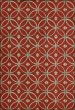 Product Image of Outdoor / Indoor Red, Cream (Hymns Across Our Hearts) Area Rug