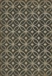 Product Image of Outdoor / Indoor Distressed Black, Cream (Marry the Night) Area Rug