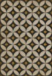 Product Image of Outdoor / Indoor Cream, Black, Gold (May the Lights Guide You) Area Rug