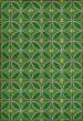 Product Image of Outdoor / Indoor Green, Cream (Radiant Hues and Morning Dew) Area Rug