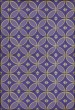 Product Image of Outdoor / Indoor Purple, Cream (Waltzing with Violets in Our Hair) Area Rug