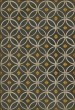 Product Image of Outdoor / Indoor Distressed Black, Cream, Gold (Saints Go Marching) Area Rug