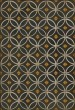 Product Image of Outdoor / Indoor Black, Cream, Gold (When the Saints Go Marching) Area Rug