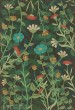 Product Image of Floral / Botanical Distressed Green (Dance of the Flowers) Area Rug