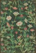 Product Image of Floral / Botanical Green, Pink, Cream (Little Idas Flowers) Area Rug