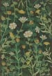 Product Image of Floral / Botanical Distressed Green, Cream, Gold (Pixie Dust) Area Rug
