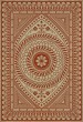 Product Image of Outdoor / Indoor Cream, Red (Praise Hope) Area Rug