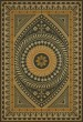 Product Image of Outdoor / Indoor Black, Cream, Yellow (Pray for Happiness) Area Rug