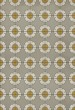 Product Image of Outdoor / Indoor Grey, Cream, Yellow (Be Bop a Lula) Area Rug