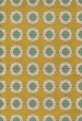 Product Image of Outdoor / Indoor Gold, Cream, Blue (Happy Days) Area Rug