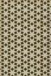 Product Image of Geometric Cream, Distressed Black, Gold (Casablanca) Area Rug