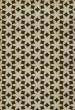 Product Image of Outdoor / Indoor Cream, Black, Gold (Casablanca) Area Rug